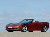 Corvette Convertible (C6) 2005 wallpapers
