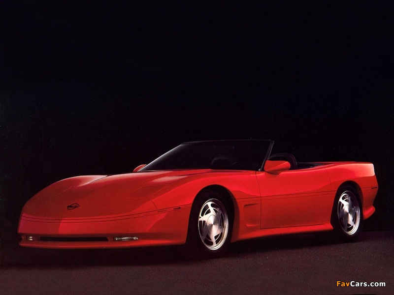 Corvette Geneve Concept 1987 images (800 x 600)