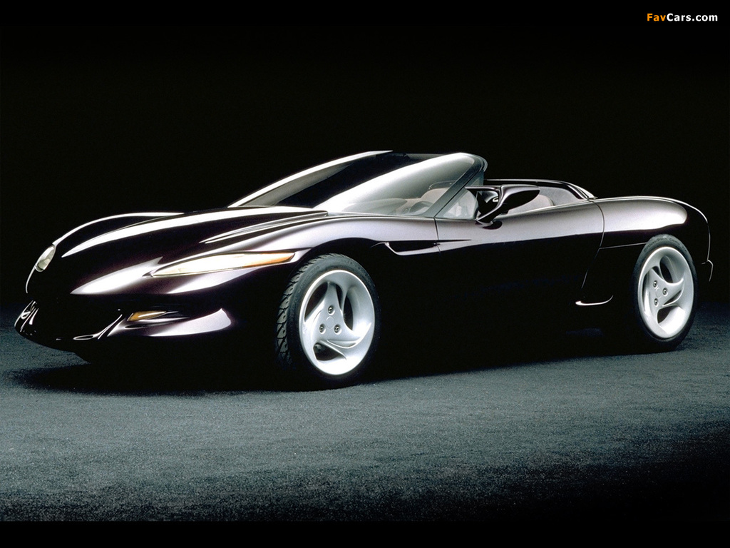 Corvette Stingray Iii Concept 1991 Images 1024x768