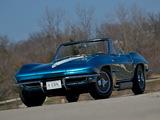 Photos of Corvette Sting Ray Convertible Show Car (C2) 1963