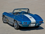 Pictures of Corvette Sting Ray Convertible Show Car (C2) 1963