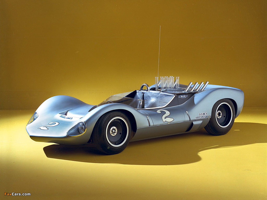 Pictures of Corvette Grand Sport II Concept 1963 (1024 x 768)