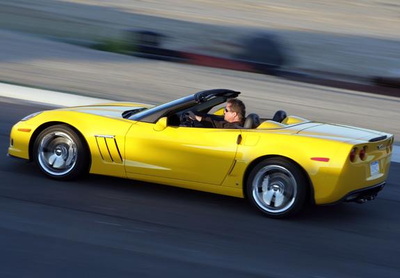 Corvette Grand Sport Convertible C6 2009 Wallpapers