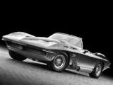Corvette Mako Shark Concept Car 1962 wallpapers