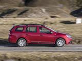 Dacia Logan MCV UK-spec 2017 wallpapers