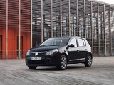Photos of Dacia Sandero Black Line 2010