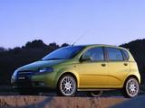 Daewoo Kalos Concept 5-door (T200) 2002 images