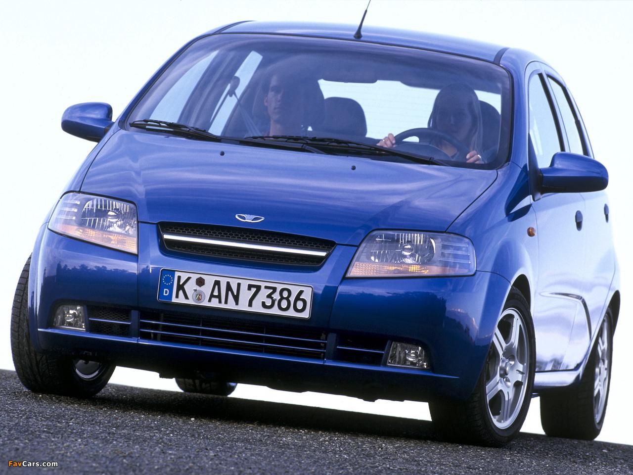 Daewoo Kalos 5-door (T200) 2002–08 photos (1280 x 960)