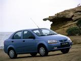 Images of Daewoo Kalos Sedan (T200) 2002–06
