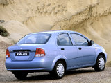 Photos of Daewoo Kalos Sedan (T200) 2002–06