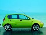 Pictures of Daewoo Kalos Concept 5-door (T200) 2002
