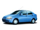 Daewoo Kalos Sedan (T200) 2002–06 wallpapers