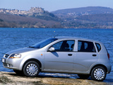 Daewoo Kalos 5-door (T200) 2002–08 wallpapers