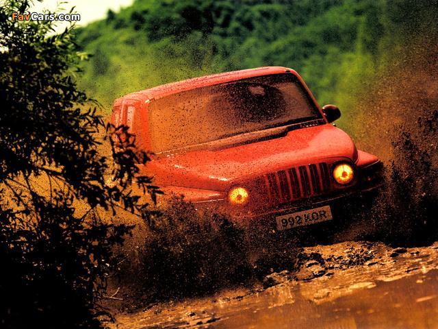 Daewoo Korando 1999–2001 photos (640 x 480)