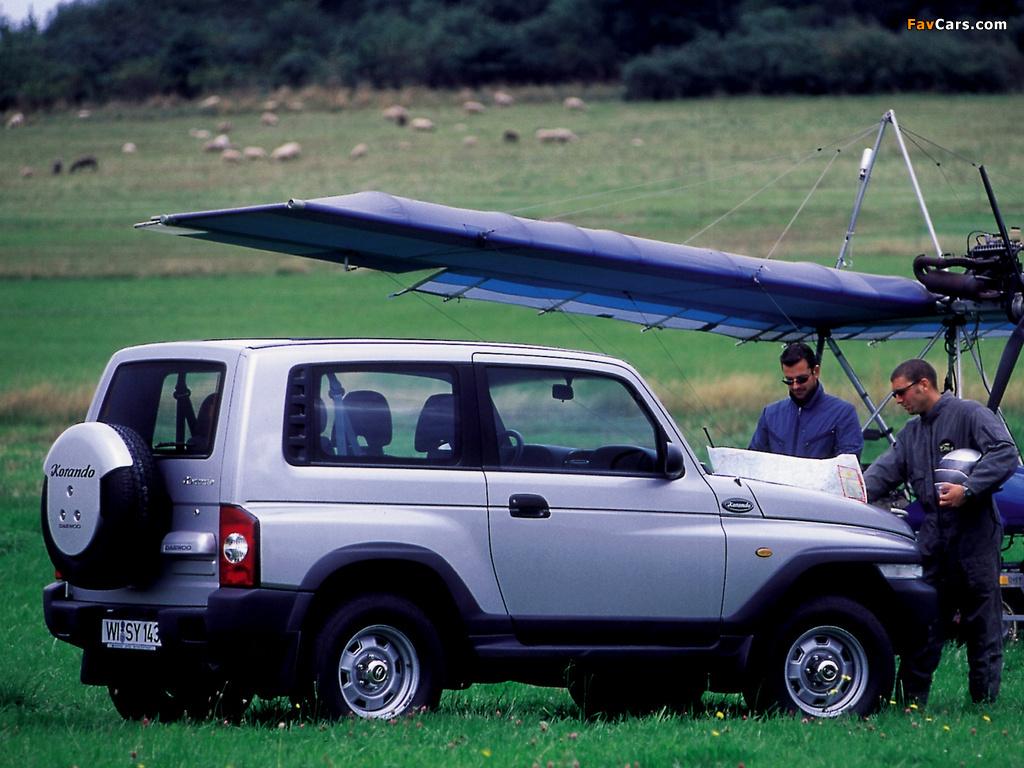 Photos of Daewoo Korando 1999–2001 (1024 x 768)