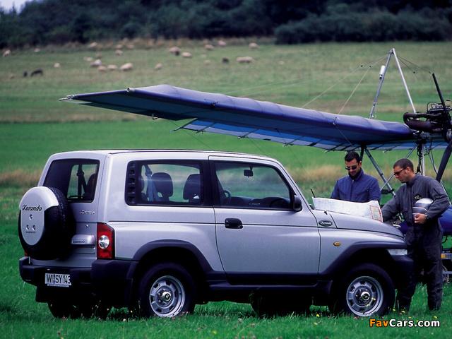 Photos of Daewoo Korando 1999–2001 (640 x 480)