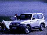 Pictures of Daewoo Korando 1999–2001