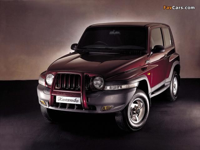 Daewoo Korando UK-spec 1999–2001 wallpapers (640 x 480)
