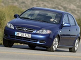 Daewoo Lacetti Hatchback SX 2004–09 images