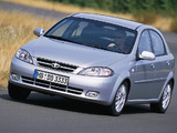 Daewoo Lacetti Hatchback CDX 2004–09 photos