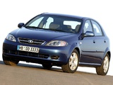 Daewoo Lacetti Hatchback SX 2004–09 wallpapers