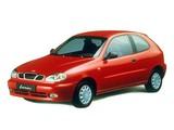 Daewoo Lanos 3-door (T100) 1997–2000 images