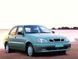 Daewoo Lanos Sedan (T100) 1997–2000 wallpapers