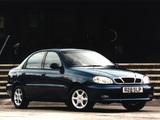 Images of Daewoo Lanos Sedan UK-spec (T100) 1997–2000