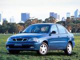 Pictures of Daewoo Lanos Sedan (T100) 1997–2000