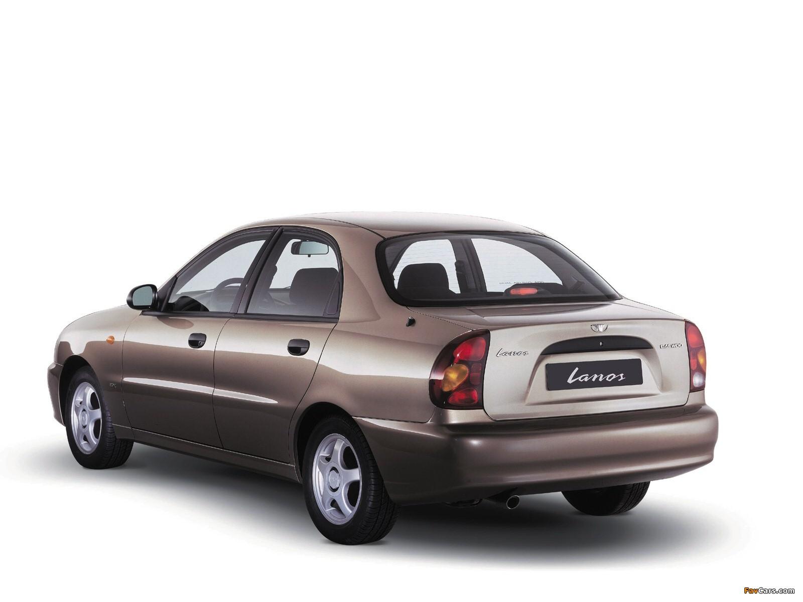 Of Daewoo Lanos Sedan T150 2004–09