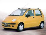 Daewoo Matiz (M100) 1998–2004 pictures