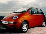 Daewoo Matiz UK-spec (M100) 1998–2000 pictures