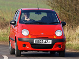 Daewoo Matiz UK-spec (M150) 2000–04 photos