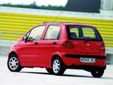 Pictures of Daewoo Matiz (M100) 1998–2004