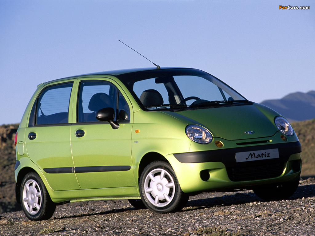 Pictures of Daewoo Matiz (M150) 2000 (1024 x 768)