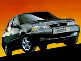 Photos of Daewoo Nexia Sedan UK-spec 1994–97