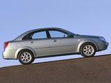 Daewoo Nubira Sedan 2003–04 pictures