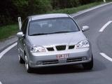 Daewoo Nubira Sedan 2003–04 wallpapers