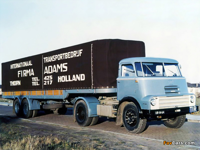 DAF 2000 DO Tractor 1957–65 wallpapers (640 x 480)