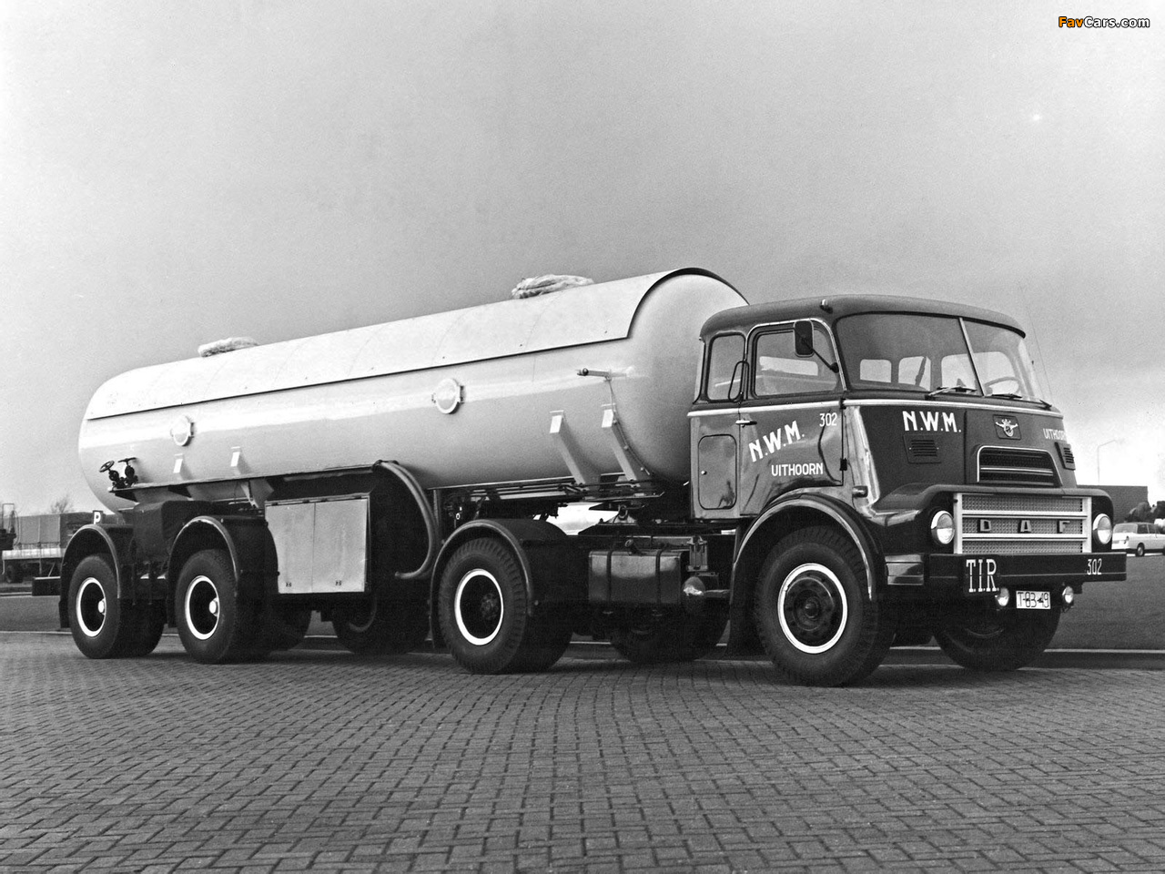 DAF 2000 DO Tractor 1965–70 pictures (1280 x 960)