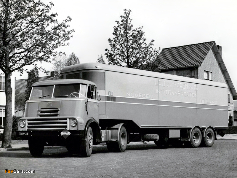 DAF 2000 DO Tractor 1957–65 wallpapers (800 x 600)