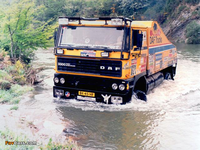 DAF 3300 Turbo Dakar 1985 images (640 x 480)