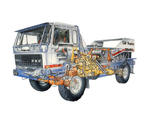DAF 3600 Turbo Twin Dakar 1986–87 photos