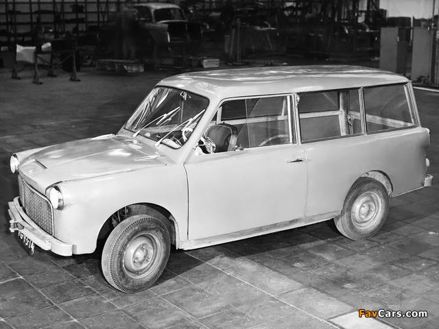DAF 600 Junior Concept 1956 photos (640 x 480)