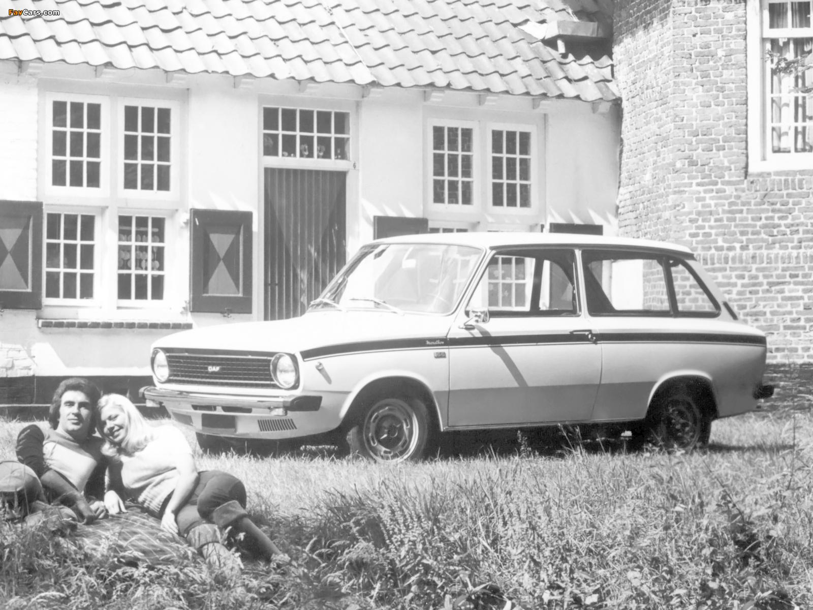 Photos of DAF 66 Marathon 1300 Combi 1973–75 (1600 x 1200)