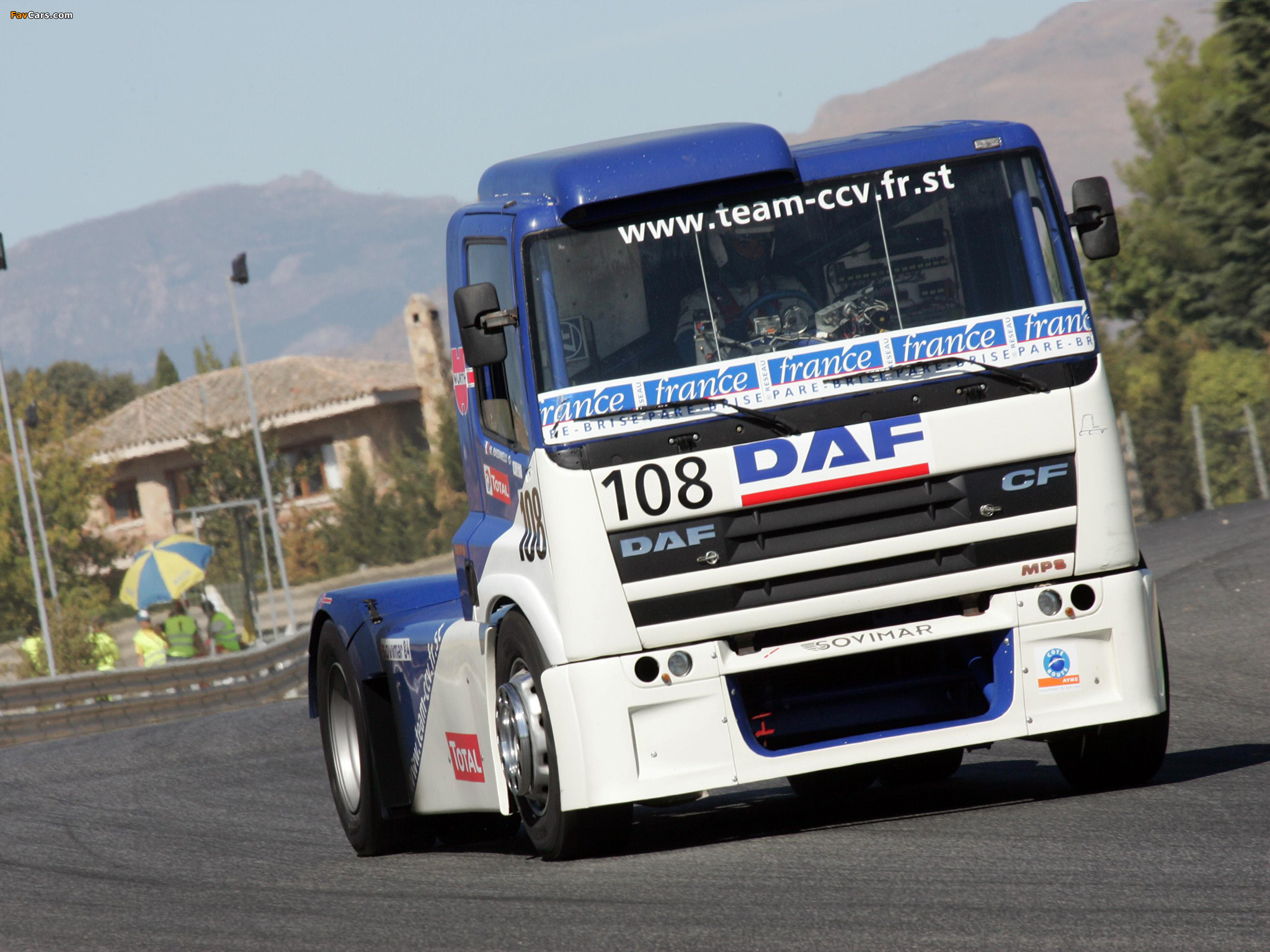 Pictures of DAF 85 Super Race Truck 2007 (2048 x 1536)