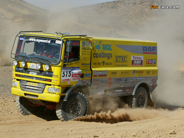 DAF CF Rally Truck 2006–13 images (640 x 480)