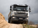 DAF CF85.460 6x4 FAT Sleeper Cab Meiller-Kipper 2006–13 wallpapers