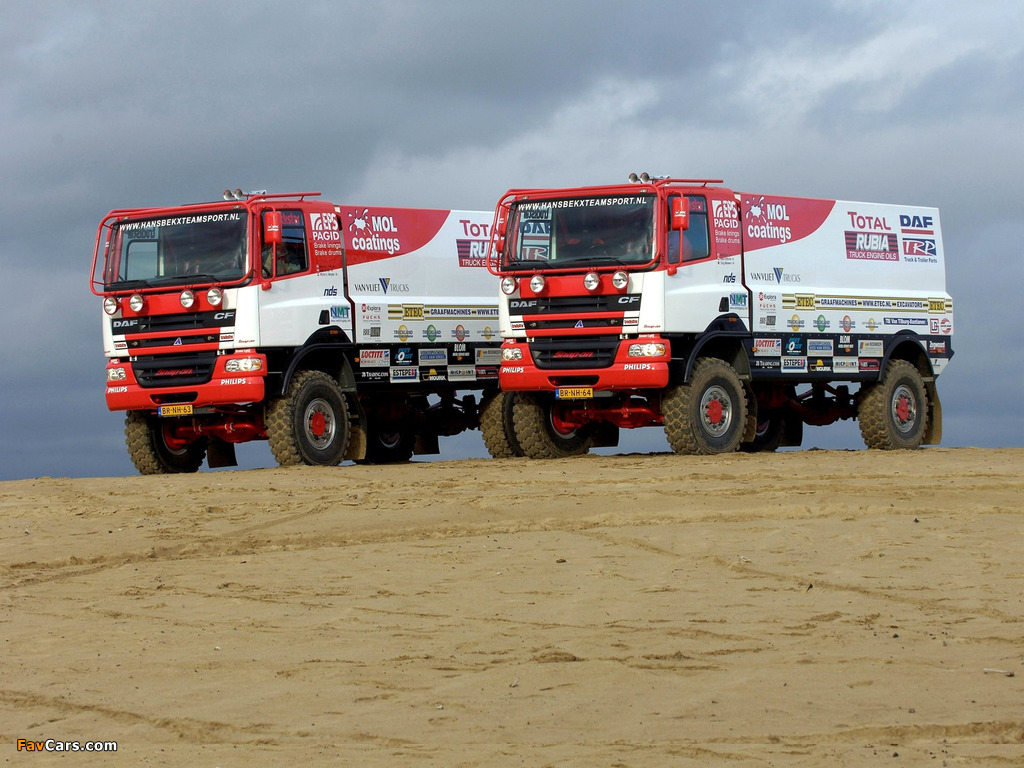 Photos of DAF CF Rally Truck 2002–06 (1024 x 768)
