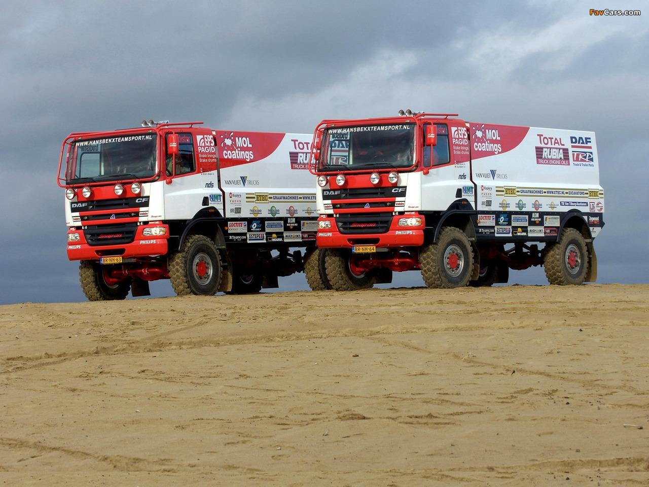 Photos of DAF CF Rally Truck 2002–06 (1280 x 960)